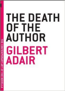 Adair Death of the Author