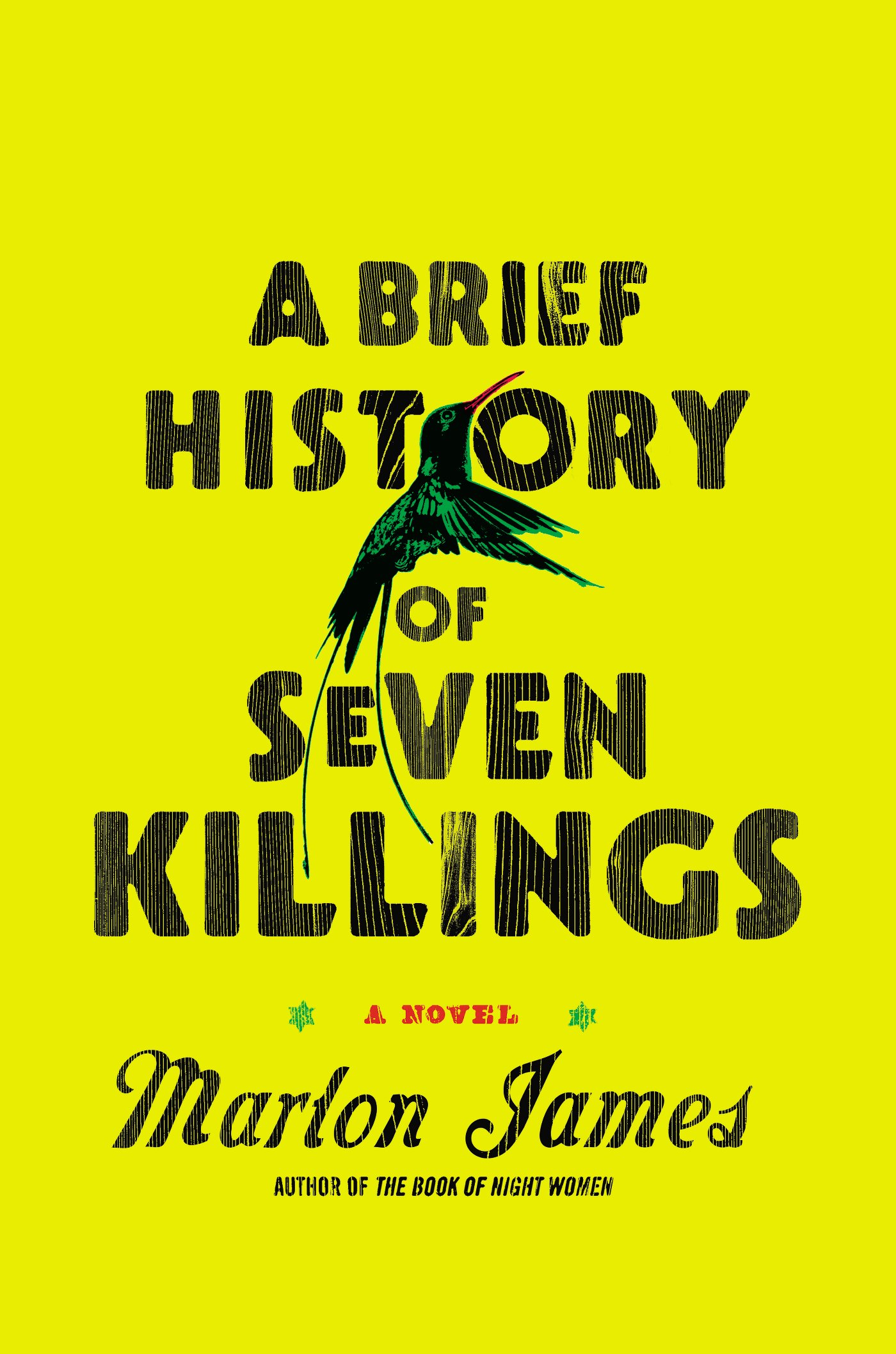 James Marlon Brief History Seven Killings